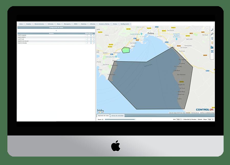 Localizador GPS para barcos