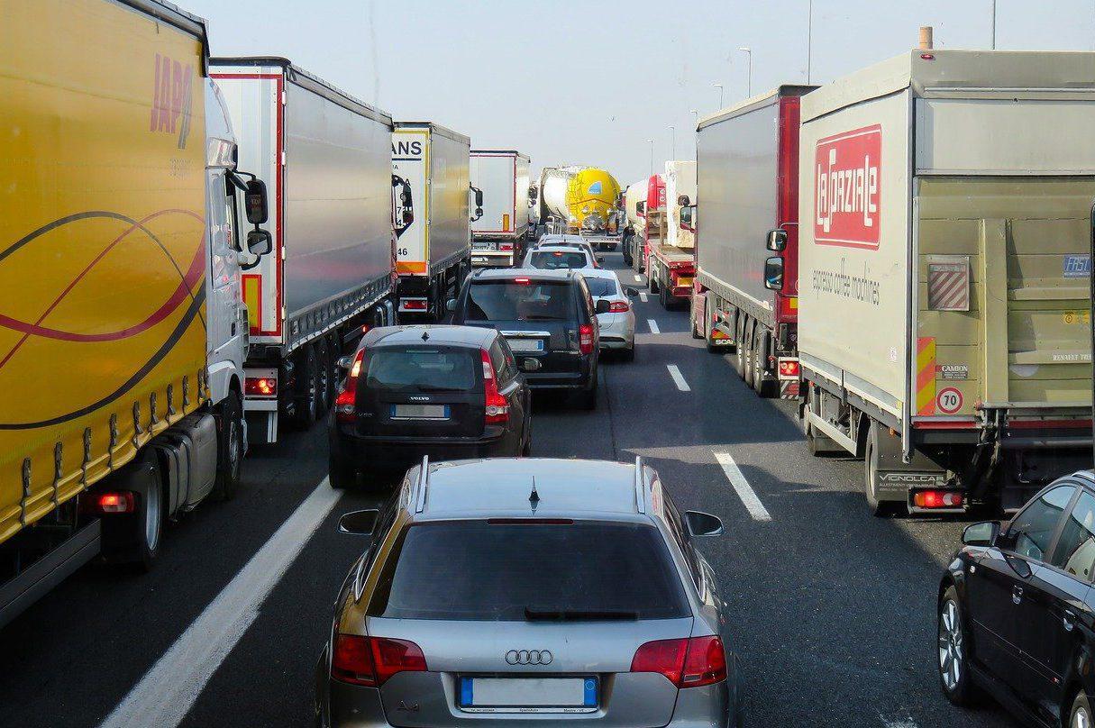 información del tráfico en tiempo real